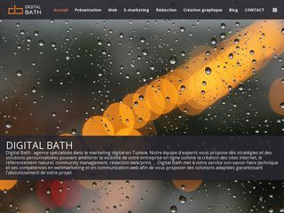 Agence web marketing : Digital Bath