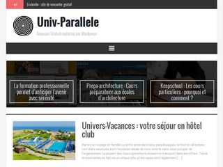 Annuaire wordpress de sites web francophone