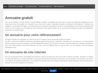 Guide web de site internet francophone