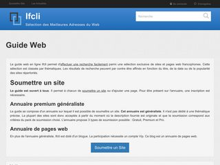Ifcli annuaire premium de sites internet