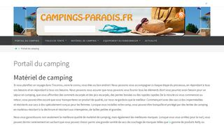 Annuaire des campings