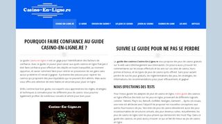 Le guide du casino en ligne n°1 en France